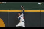 【MLB】ベッツのとんでもないホームランキャッチ!! 10/19 ブレーブス@ドジャース