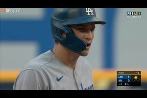 【SPOZONE MLB】<br /> 先制打を含む3安打3打点1本塁打の活躍で、ポストシーズン新記録となる1イニング11得点と大爆発した打線の火付け役となったドジャースのコリー・シーガーがSPOZONE Today's Match MVPに選出!!