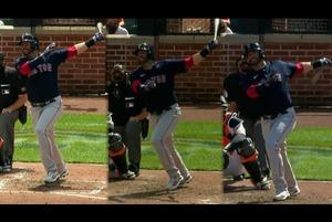 【SPOZONE MLB】<br /> 日本時間12日に行われたオリオールズ戦で、澤村拓一のチームメイトであるレッドソックスのJ.D.マルチネスが1試合で3本塁打の活躍。