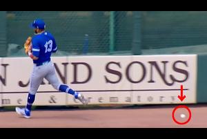 【SPOZONE MLB】<br /> 日本時間13日に行われたブルージェイズ戦の5回裏、パイレーツのカストロがレフトへ放った飛球をブルージェイズのルルデス・グリエルJr.が一度はキャッチしたものの落球に気付かない間にホームに生還した。