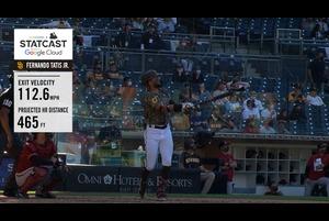 【MLB】パドレス フェルナンド・タティスJr.の2021第1号は465フィートの特大アーチ 4.5