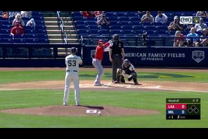【MLB】エンゼルス 大谷翔平の第1打席はセカンドゴロ vs.ブリュワーズ 3.9