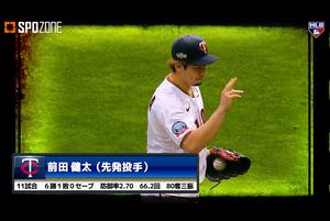 【SPOZONE MLB】<br /> メジャーリーグ機構は日本時間12月10日、「オールMLBチーム」の選考結果を発表し、セカンド・チームの先発投手部門(5名選出)で前田健太(ツインズ)が選出された。「オールMLBチーム」は昨季から表彰がスタートし、シーズントータルの成績を対象としてファースト・チームとセカンド・チームを選出する。「オールMLBチーム」の選考は、まず11月上旬にノミネート選手が発表され、ファン投票50%、選考委員会50%の合計で決定される。