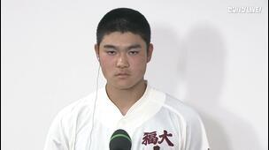 【センバツ高校野球】具志川商 - 福岡大大濠 - インタビュー