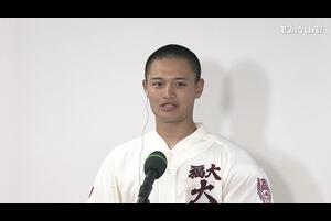 【センバツ高校野球】大崎 - 福岡大大濠 - インタビュー