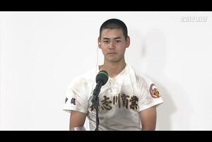 【センバツ高校野球】具志川商 - 八戸西 - インタビュー