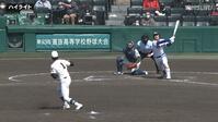 【センバツ高校野球】市和歌山 - 県岐阜商 - ダイジェスト
