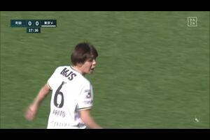J2リーグ第3節 町田vs.東京V。前半18分、町田・中島裕希のゴールシーンです。<br /> 試合詳細:https://soccer.yahoo.co.jp/jleague/category/j2/game/2021031406/summary