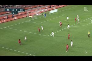 J1リーグ第3節 鹿島vs.湘南。前半3分、鹿島・荒木遼太郎のゴールシーンです。<br /> 試合詳細:https://soccer.yahoo.co.jp/jleague/category/j1/game/2021031002/summary