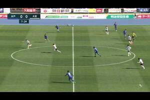 J2リーグ第1節 水戸vs.大宮。前半7分、水戸・深堀隼平のゴールシーンです。<br /> 試合詳細:https://soccer.yahoo.co.jp/jleague/category/j2/game/2021022803/summary