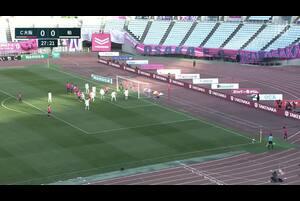 J1リーグ第1節 C大阪vs.柏。前半27分、C大阪・瀬古歩夢のゴールがVARの結果、ノーゴールと判定されたシーンです。<br /> 試合詳細:https://soccer.yahoo.co.jp/jleague/category/j1/game/2021022707/summary