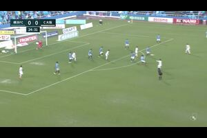 J1リーグ第4節 横浜FCvs.C大阪。前半25分、C大阪・豊川雄太のゴールシーンです。<br /> 試合詳細:https://soccer.yahoo.co.jp/jleague/category/j1/game/2021031302/summary