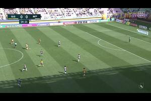 J1リーグ第7節 仙台vs.神戸。前半15分、神戸・古橋亨梧のゴールシーンです。<br /> 試合詳細:https://soccer.yahoo.co.jp/jleague/category/j1/game/2021040302/summary
