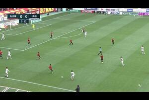 J1リーグ第10節 名古屋vs.鳥栖。前半6分、鳥栖・林大地のゴールシーンです。<br /> 試合詳細:https://soccer.yahoo.co.jp/jleague/category/j1/game/2021041807/summary