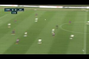 J1リーグ第3節 FC東京Vs.神戸。前半5分、神戸・ドウグラスのゴールシーンです。<br /> 試合詳細:https://soccer.yahoo.co.jp/jleague/category/j1/game/2021031004/summary