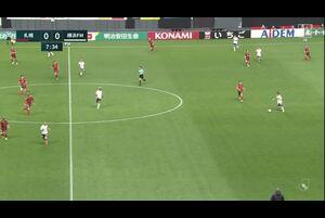 J1リーグ第10節 札幌vs.横浜FM。前半8分、札幌・菅野孝憲のファインセーブのシーンです。<br /> 試合詳細:https://soccer.yahoo.co.jp/jleague/category/j1/game/2021041601/summary