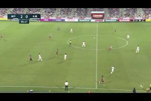 札幌GK・中野が至近距離のシュートを好セーブ【第19節】神戸vs札幌