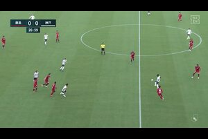 J1リーグ第11節 鹿島vs.神戸。前半28分、神戸・古橋亨梧のゴールシーンです。<br /> 試合詳細:https://soccer.yahoo.co.jp/jleague/category/j1/game/2021042406/summary