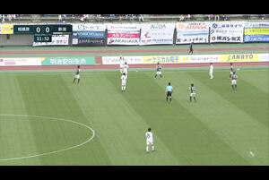 J2リーグ第6節 相模原vs.新潟。前半12分、新潟・ロメロ フランクのゴールシーンです。<br /> 試合詳細:https://soccer.yahoo.co.jp/jleague/category/j2/game/2021040402/summary