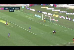 ジュニオール サントスが左足で流し込み、横浜FMが先制【第28節】FC東京vs横浜F・マリノス