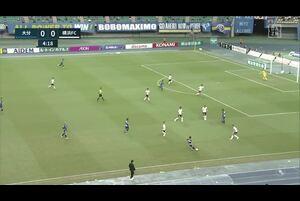 横浜FC・瀬古、チームを救うブロック【第17節】大分vs横浜FC