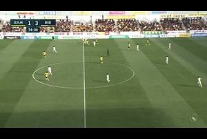 J2リーグ第1節 北九州vs.新潟。後半30分、新潟・本間至恩のゴールシーンです。<br /> 試合詳細:https://soccer.yahoo.co.jp/jleague/category/j2/game/2021022709/summary