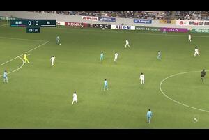 J1リーグ第5節 鳥栖vs.柏。前半29分、鳥栖・林大地のゴールシーンです。<br /> 試合詳細:https://soccer.yahoo.co.jp/jleague/category/j1/game/2021031710/summary