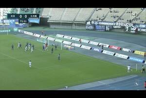 J1リーグ第27節 大分トリニータvsガンバ大阪。後半27分、ガンバ大阪・パトリックのゴールシーンです。