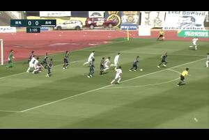 J2リーグ第7節 群馬vs.長崎。前半2分、群馬・加藤潤也のゴールシーンです。<br /> 試合詳細:https://soccer.yahoo.co.jp/jleague/category/j2/game/2021041003/summary
