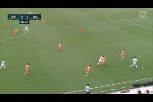 J1リーグ第7節 清水vs.徳島。後半9分、徳島がPKを獲得したシーンです。<br /> 試合詳細:https://soccer.yahoo.co.jp/jleague/category/j1/game/2021040401/summary
