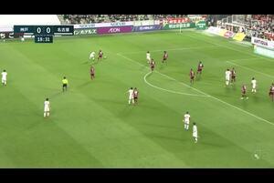 J1リーグ第4節 神戸vs.名古屋。前半19分、名古屋・稲垣祥のゴールシーンです。<br /> 試合詳細:https://soccer.yahoo.co.jp/jleague/category/j1/game/2021031307/summary