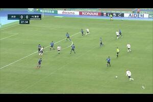 J1リーグ第4節 大分vs.FC東京。前半28分、FC東京・渡邊凌磨のゴールシーンです。<br /> 試合詳細:https://soccer.yahoo.co.jp/jleague/category/j1/game/2021031403/summary