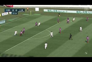 J1リーグ第2節 FC東京Vs.C大阪。前半14分、C大阪・大久保嘉人のゴールシーンです。<br /> 試合詳細:https://soccer.yahoo.co.jp/jleague/category/j1/game/2021030602/summary