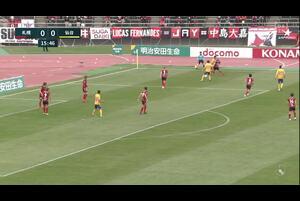J1リーグ第11節 札幌vs.仙台。前半16分、仙台・加藤千尋のゴールシーンです。<br /> 試合詳細:https://soccer.yahoo.co.jp/jleague/category/j1/game/2021042401/summary