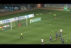 J1リーグ第3節 福岡vs.横浜FM。前半38分、横浜FM・マルコス ジュニオールのゴールシーンです。<br /> 試合詳細:https://soccer.yahoo.co.jp/jleague/category/j1/game/2021031001/summary