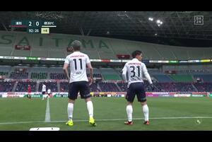 J1リーグ第3節 浦和vs.横浜FC。後半48分、横浜FC・三浦知良の途中出場シーンです。<br /> 試合詳細:https://soccer.yahoo.co.jp/jleague/category/j1/game/2021031010/summary