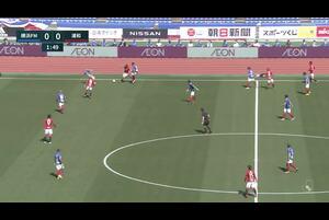 J1リーグ第4節 横浜FMvs.浦和。前半3分、横浜FM・前田大然のゴールシーンです。<br /> 試合詳細:https://soccer.yahoo.co.jp/jleague/category/j1/game/2021031401/summary