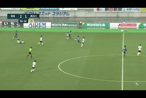 J1リーグ第6節 徳島vs.横浜FC。徳島・J1ホーム初勝利のシーンです。<br />