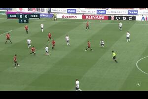 J1リーグ第7節 名古屋vs.FC東京。前半6分、名古屋・ランゲラックのセーブシーンです。<br /> 試合詳細:https://soccer.yahoo.co.jp/jleague/category/j1/game/2021040304/summary