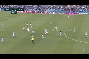 鹿島、こぼれ球に反応した白崎凌兵がヘディングで巧みに流し込み先制点を挙げる!【第12節】横浜FC vs 鹿島
