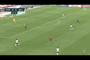J1リーグ第5節 名古屋vs.横浜FC。後半7分、名古屋・前田直輝のゴールシーンです。<br /> 試合詳細:https://soccer.yahoo.co.jp/jleague/category/j1/game/2021031705/summary