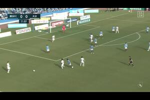 J1リーグ第2節 横浜FCvs.大分。前半8分、大分・三竿雄斗のゴールシーンです。<br /> 試合詳細:https://soccer.yahoo.co.jp/jleague/category/j1/game/2021030605/summary