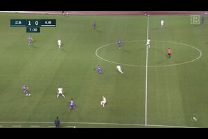J1リーグ第3節 広島vs.札幌。前半8分、広島・柏好文のゴールシーンです。<br /> 試合詳細:https://soccer.yahoo.co.jp/jleague/category/j1/game/2021031008/summary