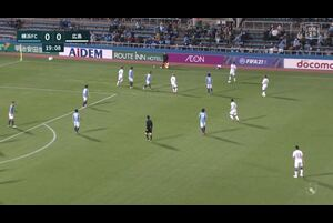 J1リーグ第8節 横浜FCvs.広島。前半20分、広島・浅野雄也のゴールシーンです。<br /> 試合詳細:https://soccer.yahoo.co.jp/jleague/category/j1/game/2021040704/summary