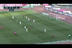 J1リーグ第1節 C大阪vs.柏。前半41分、C大阪・大久保嘉人のゴールシーンです。<br /> 試合詳細:https://soccer.yahoo.co.jp/jleague/category/j1/game/2021022707/summary