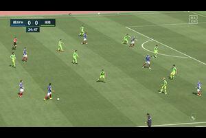 J1リーグ第7節 横浜FMvs.湘南。前半35分、横浜FM・岩田智輝のシュートシーンです。<br /> 試合詳細:https://soccer.yahoo.co.jp/jleague/category/j1/game/2021040301/summary