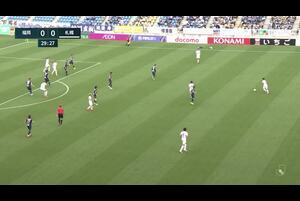 J1リーグ第7節 福岡vs.札幌。前半30分、札幌・アンデルソン ロペスのゴールシーンです。<br /> 試合詳細:https://soccer.yahoo.co.jp/jleague/category/j1/game/2021040306/summary