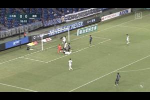 湘南GK・富居大樹が体を張ったセーブでゴールを死守【第16節】G大阪vs.湘南