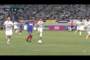 FC東京が先制!三田が速攻でゴールを奪う【第17節】FC東京vs仙台