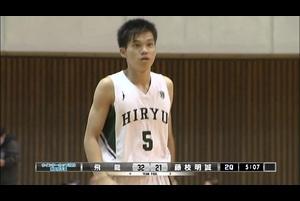 【高校バスケ】保坂晃毅 (#5 飛龍)  驚異のスピードで突破!(ウインターカップ2020 静岡県予選)